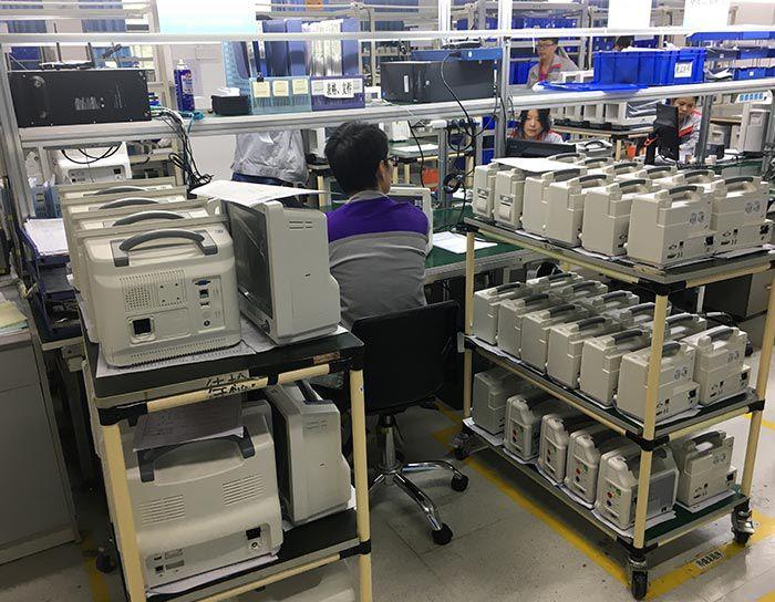 Patient Monitor Production Line