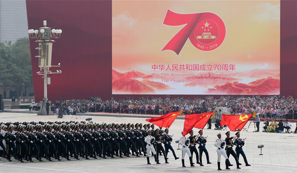 Congratulations of the 70th Anniversary of the Founding of the People's Republic of China!